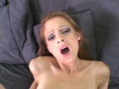 Sliding my dick in her tight hot hole