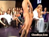 Blonde cfnm party girl fucked in public by cfnm stripper