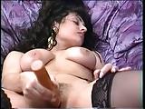 Claudia Casali Dildo Action