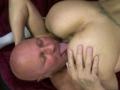 Hot Teen Enjoying Sex With Grandpa