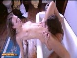 Coed Chicks Katy Caro And Poppy Morgan Having A Lesbian Sex On Bathtub