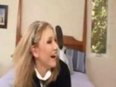 Beautiful Blonde Teen Schoolgirl Kali Lane Upskirt..
