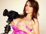 Hot big tit brunette Jenna Presley gets her wet pussy fucked hard