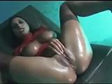 SEX IN SOLARIUM WITH HOT GIRL