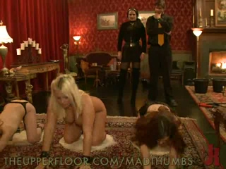 Three Helpless Babes Experienced The Pain Of Extreme BDSM Training